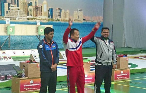 تیراندازی قهرمانی آسیا ، دو مدال برنز و کسب شش سهمیه المپیک