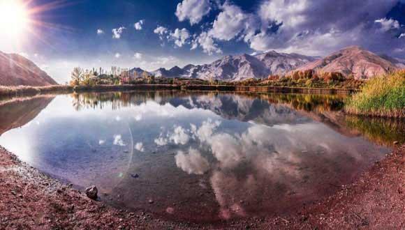 اوان ،دریاچه ای بر بام قزوین