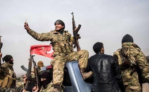 ترکیه یک گروه شبه نظامی به سوریه اعزام کرد