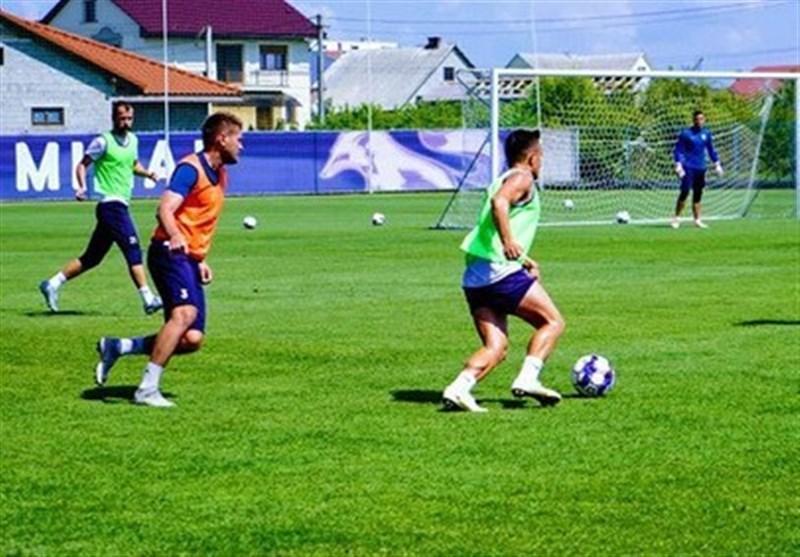 شروع تمرینات نخستین بازیکن کرونایی فوتبال اوکراین