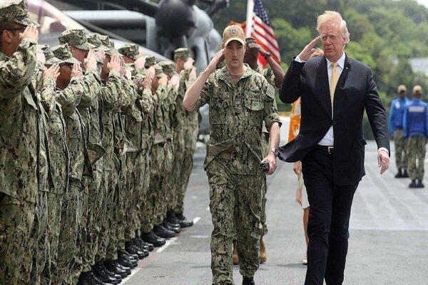 ترامپ بار دیگر به جنگ نظامیان آمریکایی رفت