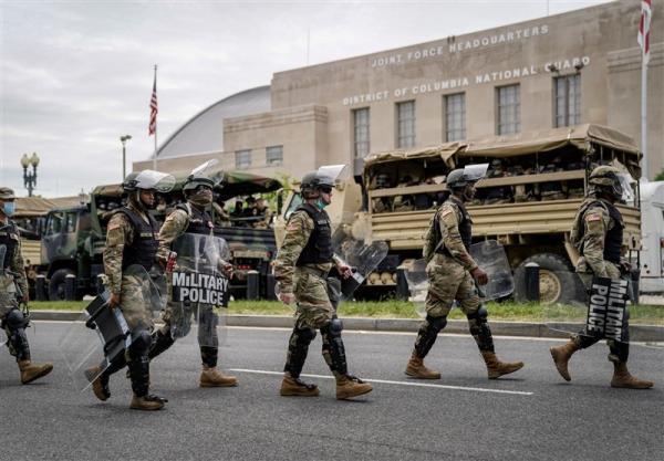 تشدید اقدامات امنیتی در واشنگتن، چندین نظامی گارد ملی از شرکت در مراسم تحلیف حذف شدند