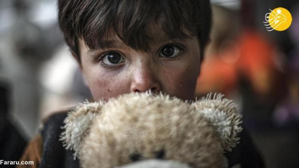 (تصاویر) اسباب بازی هم درد بچه ها آواره سوری را تسکین نمی دهد!