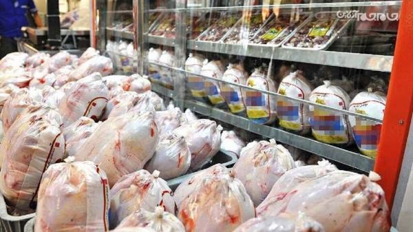 55 تُن مرغ گرم وارد بازار قم شد