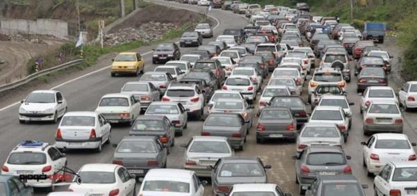 ترافیک سنگین در محور چالوس خبرنگاران