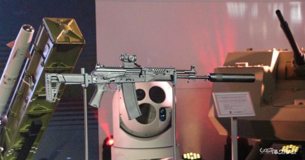انتشار تصاویری از نسخه تازه اسلحه تهاجمی AK، 12