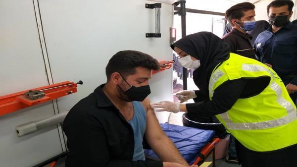 واکسیناسیون پرسنل شرکت شهرک های صنعتی سیستان و بلوچستان انجام شد